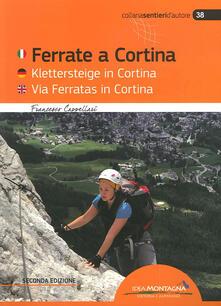 Librisulladiversita.it Ferrate a Cortina. Ediz. italiana, inglese e tedesca Image