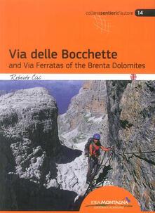 Nicocaradonna.it La via delle Bocchette e le ferrate del Brenta. Ediz. inglese Image