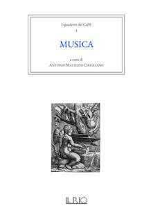 I quaderni del caffè. Vol. 3: Musica. - copertina