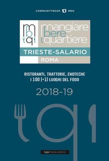 Mangiare bere quartiere Trieste-Salario - copertina