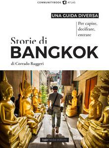 Storie di Bangkok - Corrado Ruggeri - copertina
