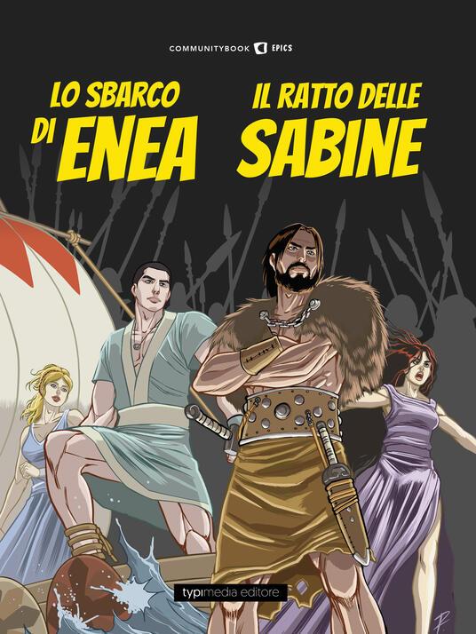 Lo sbarco di Enea e il ratto delle Sabine - copertina
