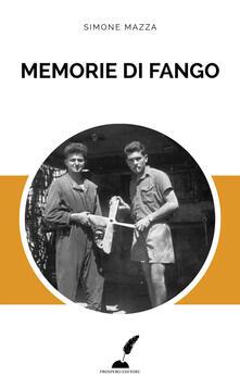 Memorie di fango - Simone Mazza - copertina