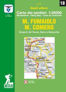Promoartpalermo.it M. Fumaiolo. M. Comero. Sorgenti del Tevere, Savio e Marecchia. Carta dei sentieri 1:25.000 Image