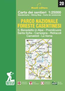 Parco nazionale delle foreste casentinesi. Carta dei sentieri 1:25.000. Ediz. italiana, inglese, francese e tedesca.pdf