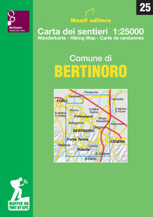 Radiospeed.it Comune di Bertinoro. Carta dei sentieri 1:25.000 Image