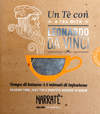 Un tè con Leonardo da Vinci-A tea with Leonardo da Vinci. Ediz. bilingue - Caricato Luca - wuz.it