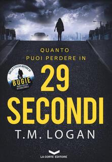 29 secondi - T. M. Logan - copertina