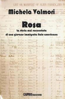 Radiospeed.it Rosa. La storia mai raccontata di una giovane immigrata italo americana Image
