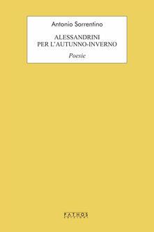 Alessandrini per l'autunno-inverno - Antonio Sorrentino - copertina