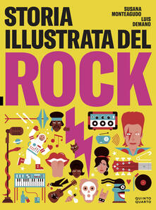 Lpgcsostenible.es Storia illustrata del rock. Ediz. illustrata Image
