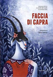 Faccia di capra - Paola Pedrizzi - copertina