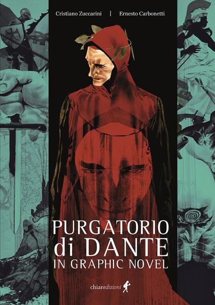 Il Purgatorio di Dante in graphic novel - Cristiano Zuccarini - copertina