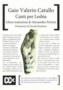 Ristorantezintonio.it Canti per Lesbia Image