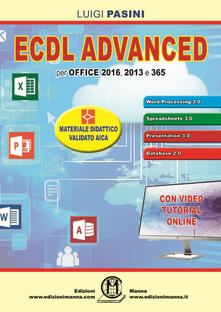 Voluntariadobaleares2014.es ECDL advanced. Per Office 2016, 2013 e 365. Con espansione online Image