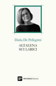 Altalena sui larici - Daria De Pellegrini - copertina