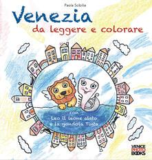 Squillogame.it Venezia da leggere e colorare. Con Leo il leone alato e la gondola Tinta Image