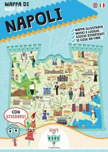 Fondazionesergioperlamusica.it Mappa di Napoli. Con adesivi. Ediz. illustrata Image