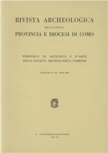 Rivista archeologica dell'antica provincia e diocesi di Como (166)