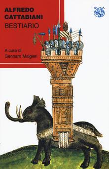 Bestiario - Alfredo Cattabiani - copertina