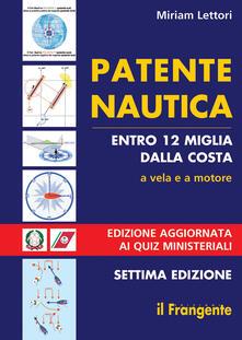 Ristorantezintonio.it Patente nautica entro 12 miglia dalla costa. A vela e a motore Image