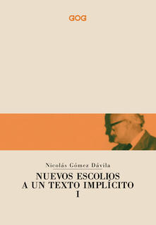Equilibrifestival.it Nuevos escolios a un texto implicito. Ediz. italiana. Vol. 1 Image