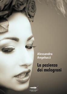 La pazienza dei melograni - Alessandra Angelucci - copertina