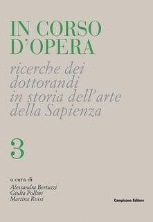 Winniearcher.com In corso d'opera. Ricerche dei dottorandi in storia dell'arte della Sapienza. Vol. 3 Image