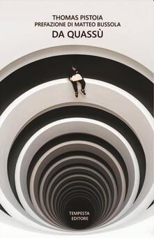 Da quassù - Thomas Pistoia - copertina