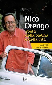 Scacciamoli.it Nico Orengo, poeta della pagina e della vita Image