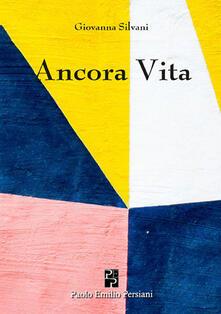 Ancora vita - Giovanna Silvani - copertina
