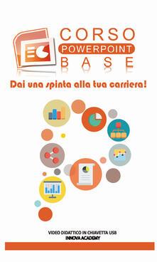 Voluntariadobaleares2014.es Videocorso PowerPoint base. Video didattico su supporto usb Image
