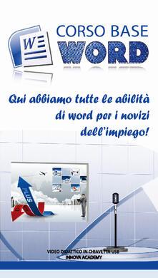 Antondemarirreguera.es Corso base Word. Qui abbiamo tutte le abilità di Word per i novizi dell'impiego! Video didattico in chiavetta usb Image