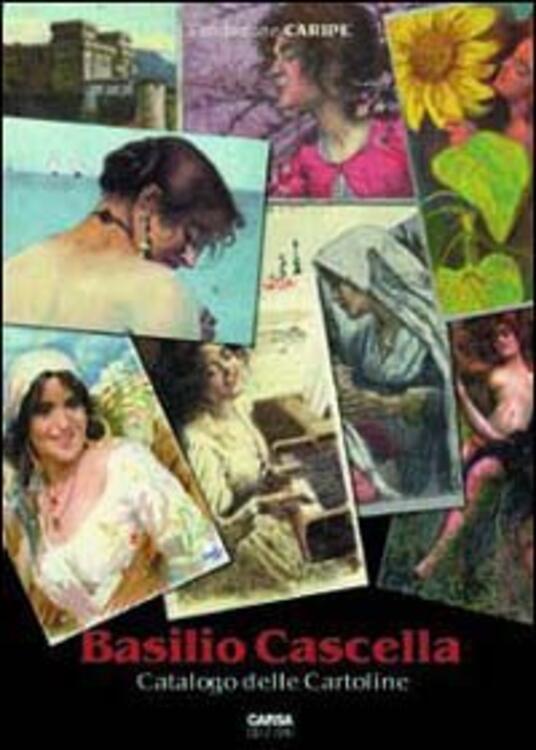 Basilio Cascella. Catalogo delle cartoline - copertina