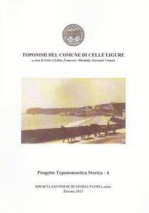 Toponimi del Comune di Celle Ligure