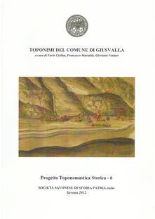 Toponimi del Comune di Giusvalla
