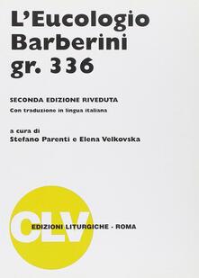 Winniearcher.com L' eucologio Barberini gr. 336 Image
