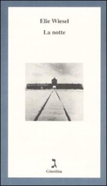 La notte - Elie Wiesel - copertina