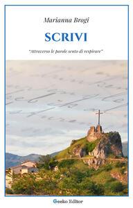 Scrivi - Brogi Marianna - ebook