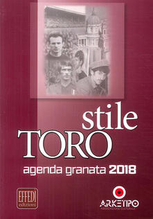 Nicocaradonna.it Stile Toro. Agenda granata 2018 Image