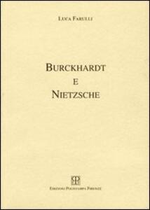 Burckhardt e Nietzsche