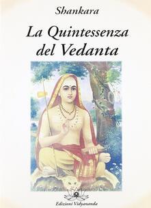 Premioquesti.it La quintessenza del Vedanta Image