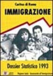 Grandtoureventi.it Dossier statistico immigrazione 1993 Image