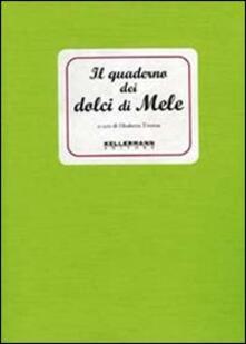 Il quaderno dei dolci di mele - Elisabetta Tiveron - copertina