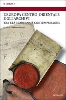 Europa centro-orientale e gli archivi - copertina