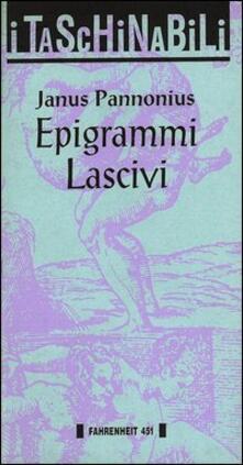 Epigrammi lascivi - Janus Pannonius - copertina
