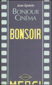 Bonjour cinéma - Jean Epstein - copertina
