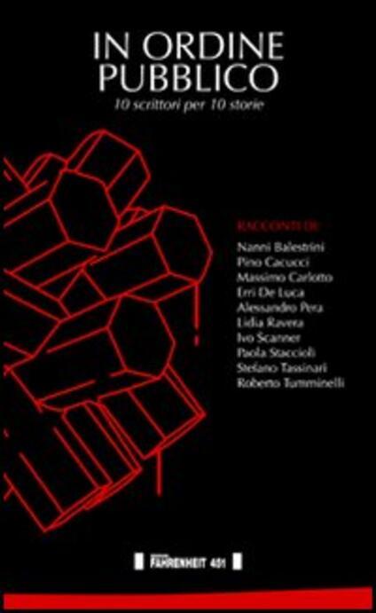 In ordine pubblico. 10 scrittori per 10 storie - copertina