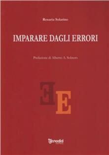 Imparare dagli errori - Rosaria Solarino - copertina