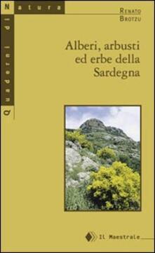 Alberi, arbusti e erbe della Sardegna - Renato Brotzu - copertina